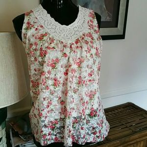 Women's lacy top